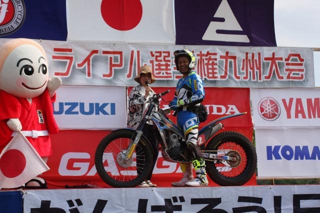 2019全日本トライアル第2戦九州 BRAINS OIL サポートライダー徳丸新伍選手