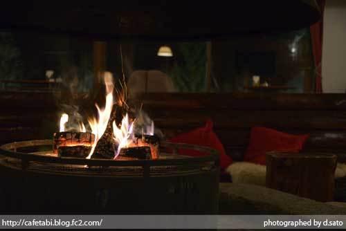 長野県 下高井郡 山ノ内町 奥志賀高原 奥志賀高原ホテル バーラウンジ 無料 ドリンクサービス 暖炉 オープン型 バータイム 14