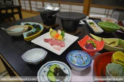 石川県 珠洲市 能登観光ホテル 夕食 和食 和牛 刺身 海鮮料理 ペットOK 美味い飯 02