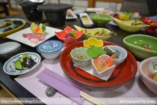 石川県 珠洲市 能登観光ホテル 夕食 和食 和牛 刺身 海鮮料理 ペットOK 美味い飯 03