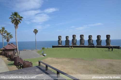 宮崎県 日南市 サンメッセ日南 モアイ像 イースター島公認 絶景 ランチ ペットOK 宗教施設 14