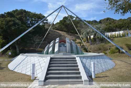 宮崎県 日南市 サンメッセ日南 モアイ像 イースター島公認 絶景 ランチ ペットOK 宗教施設 24