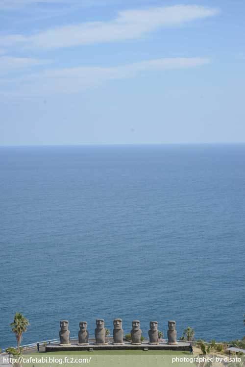 宮崎県 日南市 サンメッセ日南 モアイ像 イースター島公認 絶景 ランチ ペットOK 宗教施設 28