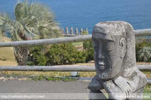 宮崎県 日南市 サンメッセ日南 モアイ像 イースター島公認 絶景 ランチ ペットOK 宗教施設 32
