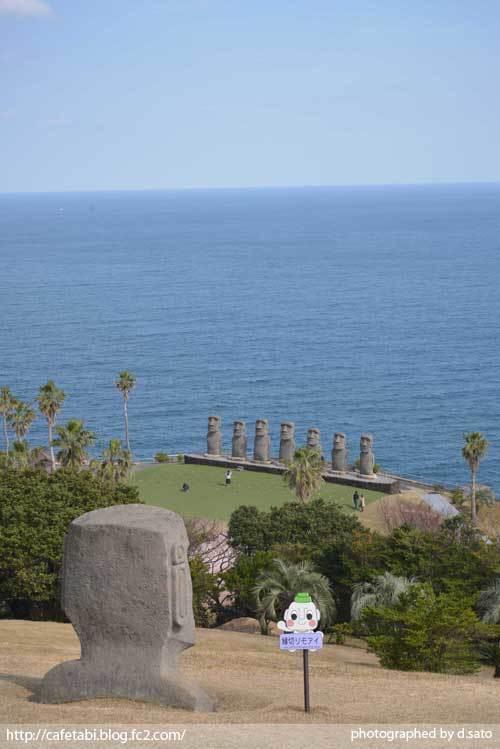 宮崎県 日南市 サンメッセ日南 モアイ像 イースター島公認 絶景 ランチ ペットOK 宗教施設 34