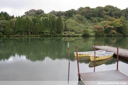 新潟県 糸魚川市 高浪の池 高原ロッジ 蕎麦 おそば 02