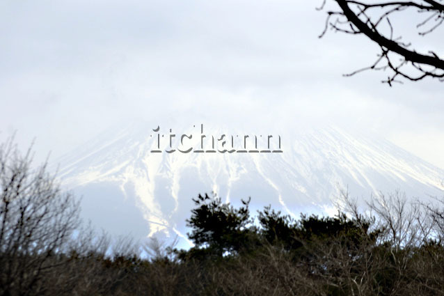 正午の富士