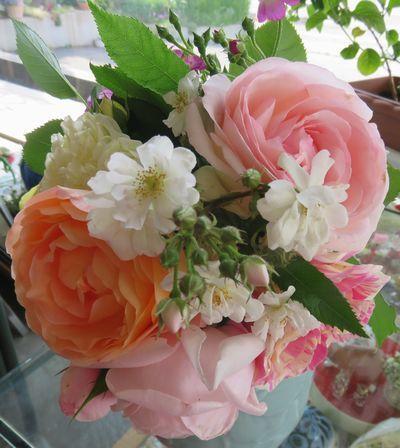 001薔薇花束