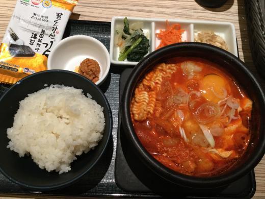 190510東京純豆腐夕食