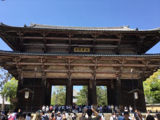 190504奈良東大寺南大門