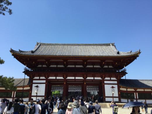 190504奈良東大寺中門
