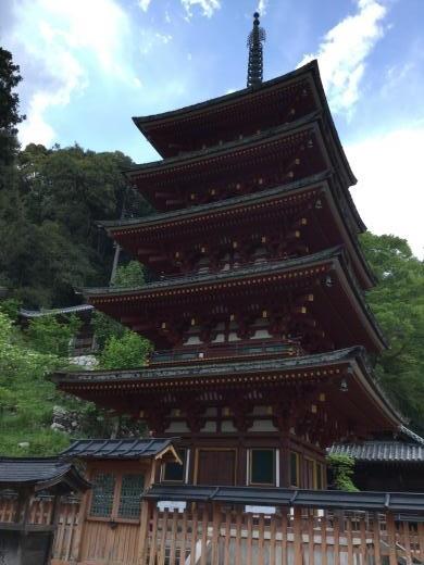 190505奈良長谷寺五重塔