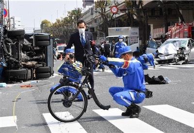 親子が乗っていた自転車D4foL5dUEAAyOcP