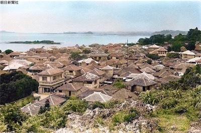 戦前の沖縄の街並み。D4A3UBpUwAESsuw