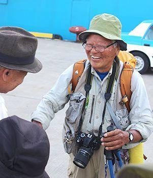 1歩いて日本縦断10カ月 報道写真家・石川文洋さん 古里の沖縄に到着9fa4ce48d06fbbf49a9364a44fda7ee