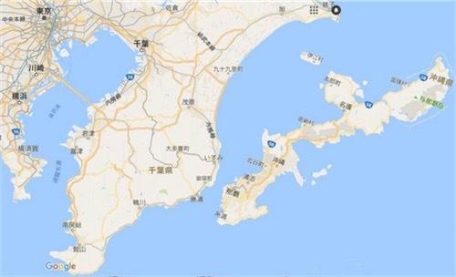 沖縄島と房総半島を比較してみた 20161004151213
