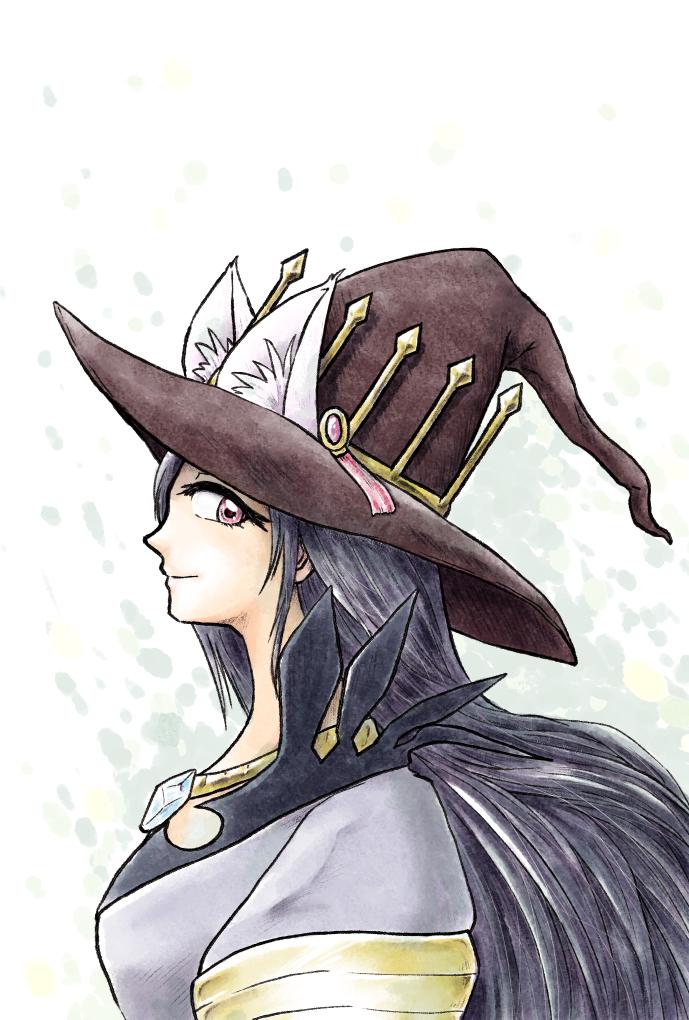 猫耳魔女帽