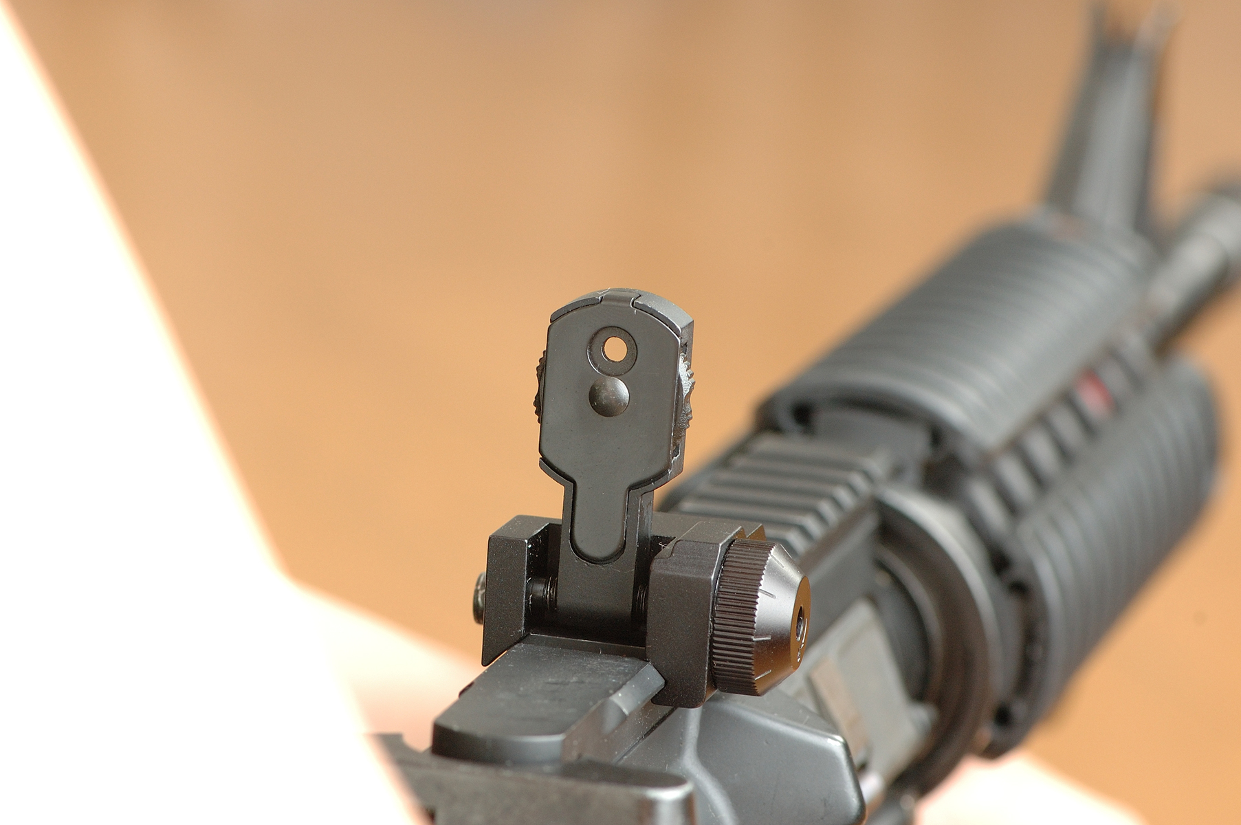 MAD BUIS Flip Up Rear Sight