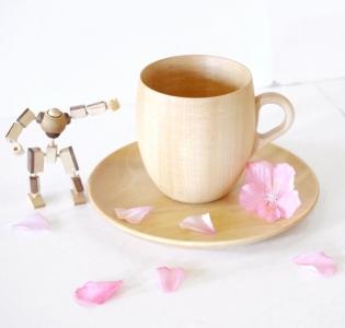 高橋工芸 Cara マグカップとソーサーセット