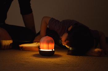 ころころあかり どんぐり_コド木工_電池式_木製ライト_間接照明