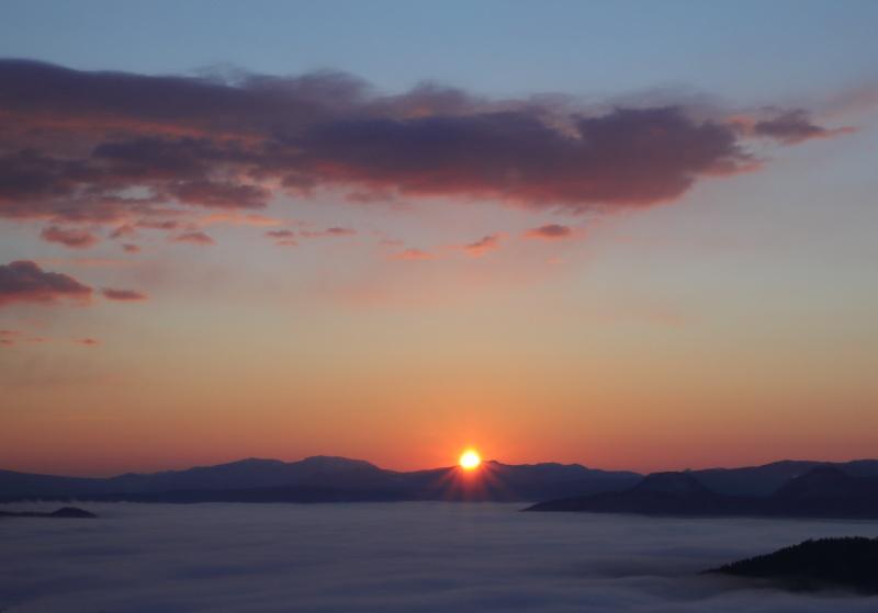 3631 雲海と日の出