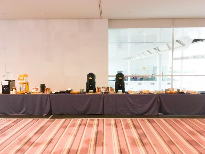 朱鷺メッセ 国際会議 coffeebreak ケータリング