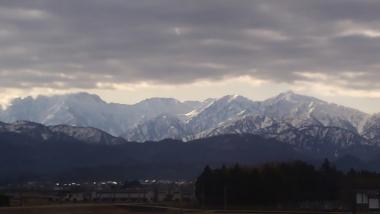 4月の立山連峰20190401