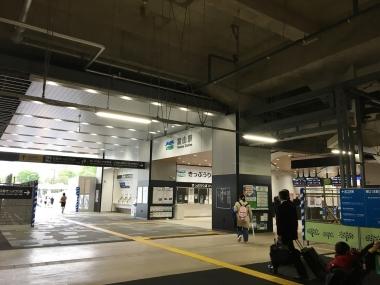 富山駅内から北向き 20190425