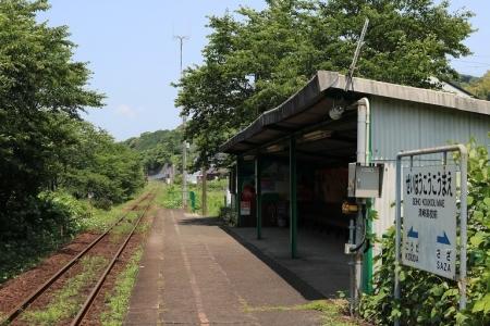 松浦鉄道・青峰高校前駅