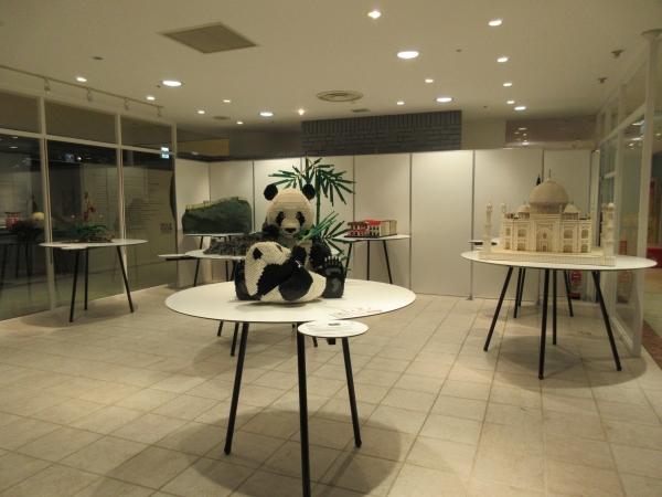 4階レゴパンダ