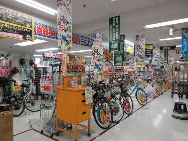 2階自転車