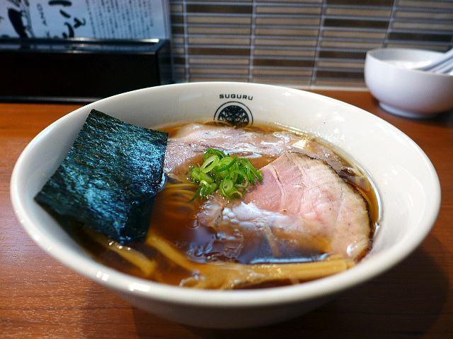 らぁ麺 すぐる@01醤油らぁ麺 1
