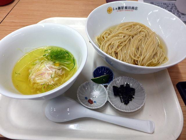 らぁ麺屋 飯田商店 大丸京都店催事@01しおつけ麺 1