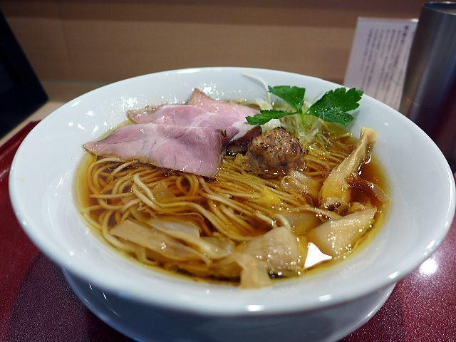 麦と麺助 新梅田中津店@01中華そば 1