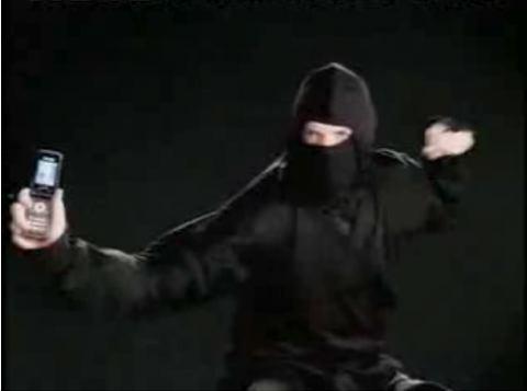 忍者を使用したサムスンのCM 「サムスン(韓国製品)隠蔽作戦」、「日本製品なりすまし作戦」