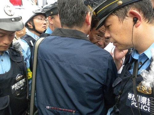 川崎デモ!悪逆暴虐、極に達す!川崎市長、神奈川県警、しばき隊、有田芳生、マスゴミによる言論弾圧