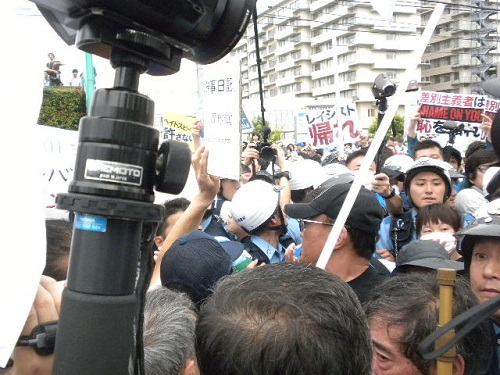220160605川崎発!日本浄化デモ第三弾!在日朝鮮人や反日左翼らは、デモ参加者たちに殴る蹴るの暴行を加えた