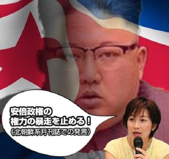 望月衣塑子(東京新聞)北朝鮮系月刊誌で「安倍政権の権力の暴走を止める!」 「記者は国民の代表」