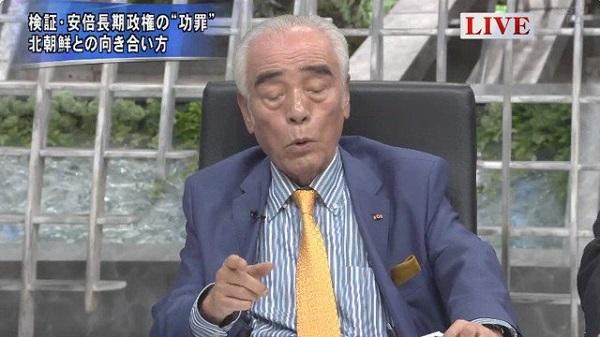 石井一「拉致問題にいつまでもこだわるんじゃなくもっと重要な問題がある、国交正常化。核の脅威を外す事もできる。日本は半島統一にイニシアティブをとったらどうか。拉致が済まなきゃ交渉に応じないなんて言ってた