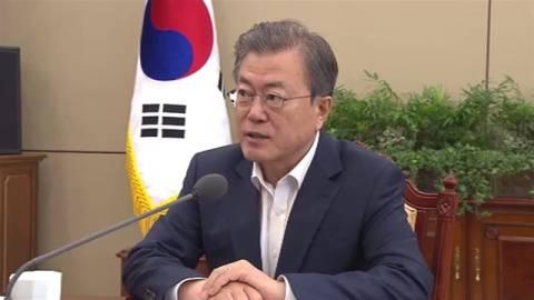 韓国・文大統領、新天皇陛下に祝電「平和のための堅固な歩み期待」