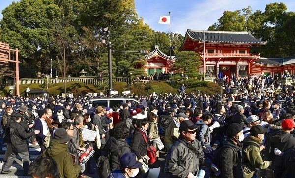 ヘイトデモと反対派衝突 京都の観光地騒然 産経新聞