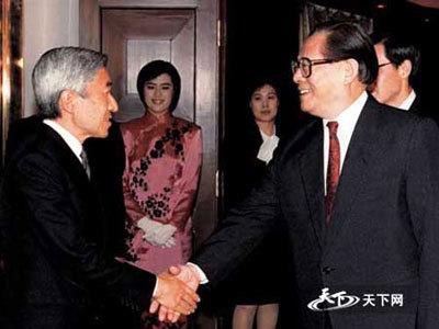 平成4年(1992年)10月23日より、天皇陛下は、支那を訪問された。