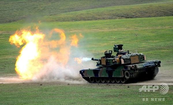 台湾、米製戦車・ミサイル購入の意向認める 中国反発