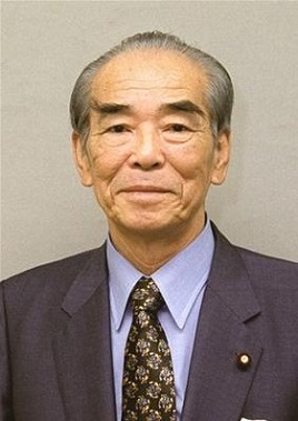 江藤隆美・総務庁長官