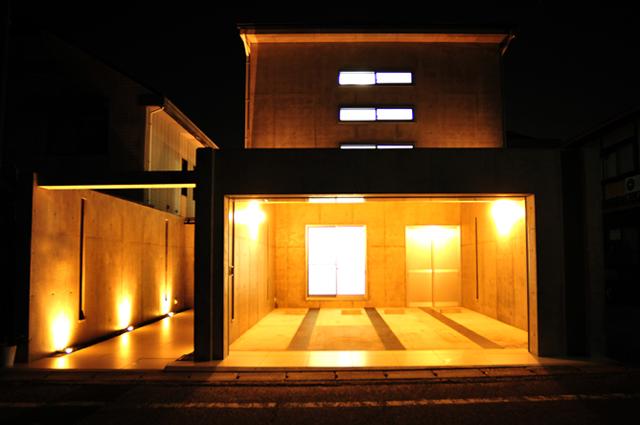 京都市,北区,RC,ガレージハウス,京都,滋賀,注文住宅,モダン住宅,デザイナーズ住宅,一級建築士事務所
