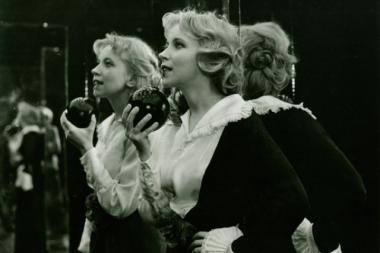 『私の20世紀』 ドロタ・セグダがとても魅力的だった。ミラーハウスの場面は『上海から来た女』っぽい。