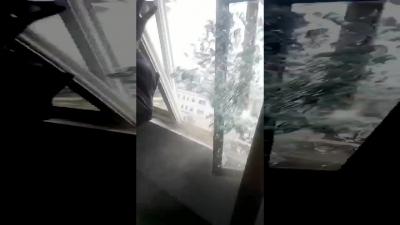 【衝撃!】爆風は遅れてやってくることが分かる映像!