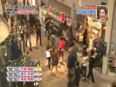 【芸能人サプライズ(ロケ編)】前田敦子が突然商店街に現れた!