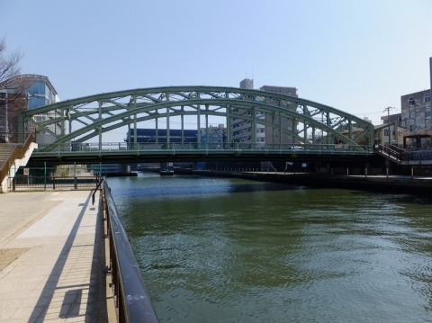 小名木川河口と萬年橋