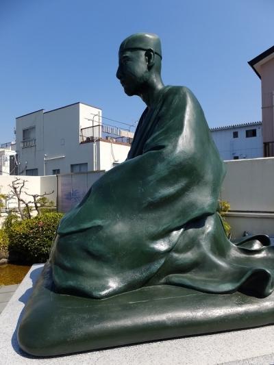 芭蕉翁の像・芭蕉庵史跡展望庭園